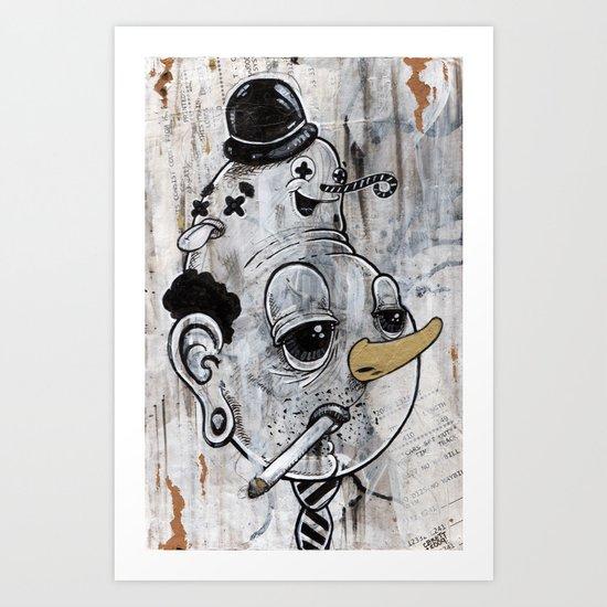 """Tie~rrrd"" Art Print"
