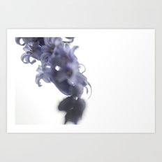 {blue} Art Print