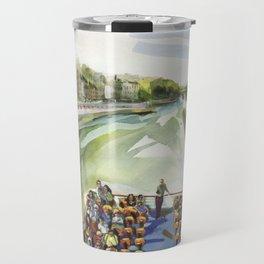 A choppy Seine makes for a fun ride on the Bateau Mouche - Paris Travel Mug