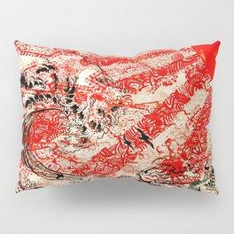 For Japan. Pillow Sham