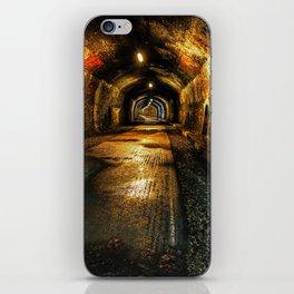 Monsal trail tunnel iPhone Skin
