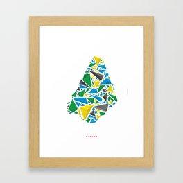 medina 6 Framed Art Print
