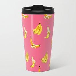 Banana pink coctail Travel Mug
