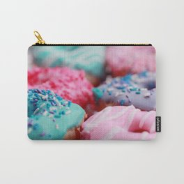 Lavender And Pink Donuts Carry-All Pouch