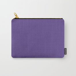 Solid Ultra Violet pantone Carry-All Pouch