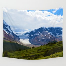 View along the Wilcox Pass Hike in Jasper National Park, Canada Wall Tapestry