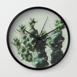 el cactuxxx Wall Clock