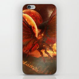 The Power of Aliens iPhone Skin