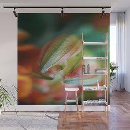 Spring - macroflower Wall Mural