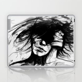 """Time is like the wind, it lifts the light and leaves the heavy"" Laptop & iPad Skin"