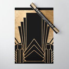 Art deco design Wrapping Paper
