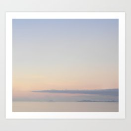 Afternoon soothe Art Print