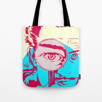 dali Tote Bags featuring Dali   by Vee Ladwa