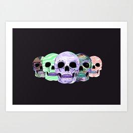 live love die Art Print