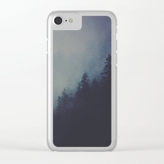 No light without darkness Clear iPhone Case