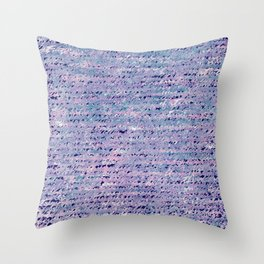 the stars died // text pattern 02 Throw Pillow