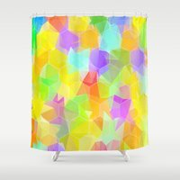 party Shower Curtains featuring Party by Alexandre Reis