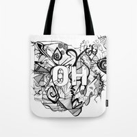 ohio Tote Bags featuring Ohio. by Stefani Reeder