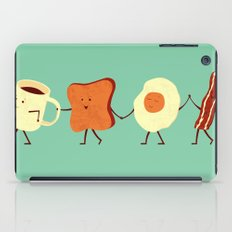 Let's All Go And Have Breakfast iPad Case