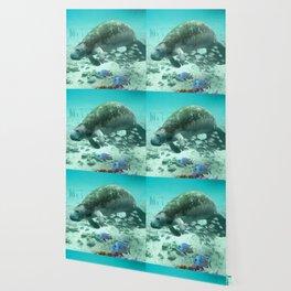 Large  Manatee Wallpaper