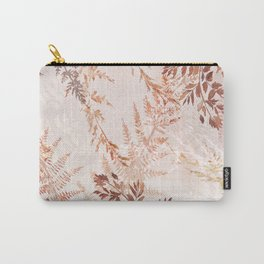 Snowflake ferns Carry-All Pouch