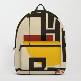 Bauhaus Poster I Backpack