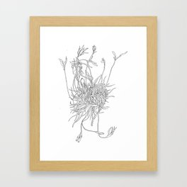 Mossy Mind Framed Art Print