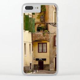 Alleyway in Verona Clear iPhone Case