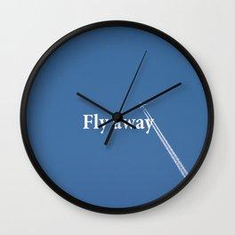 Flay away Wall Clock