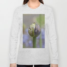 Agapanthus Bud Long Sleeve T-shirt