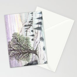 The Lone Willow Stationery Cards