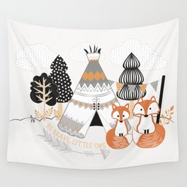 Be Brave, Little One Wall Tapestry