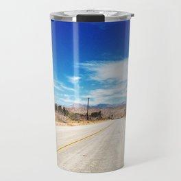 Long Desert Road Travel Mug