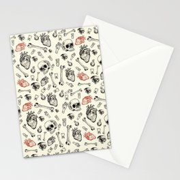 Grunge Pattern by Javi Codina Stationery Cards