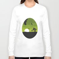 egg Long Sleeve T-shirts featuring Egg by Broenner