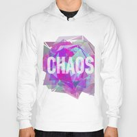chaos Hoodies featuring CHAOS by artic