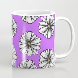 Please Don't Eat the Daisies Violet Coffee Mug