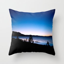 Magic Twilight - South Lake Tahoe, California Throw Pillow