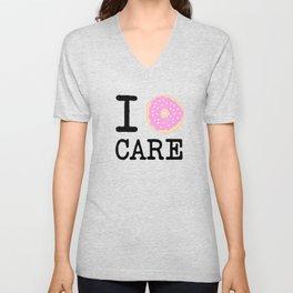 I doughnut care Unisex V-Neck