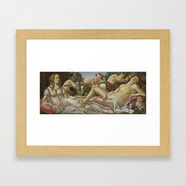 Botticelli - Venus and Mars Framed Art Print