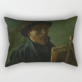 Self-Portrait as a Painter Rectangular Pillow
