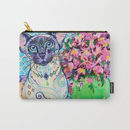 Orient - Siamese Cat Art Carry-All Pouch