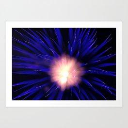 Geometric Firework 25 Art Print