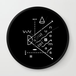 Soundbeams Wall Clock