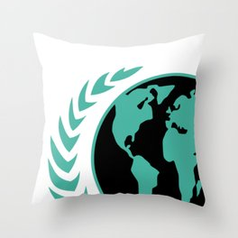 United Earth Government Throw Pillow