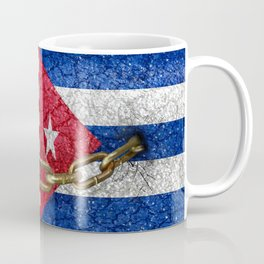 United States and Cuba Flags United Coffee Mug