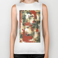 moulin rouge Biker Tanks featuring Rouge by MelissaBeaulieu