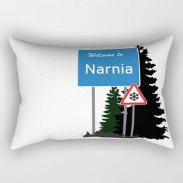 Narnia traffic Rectangular Pillow