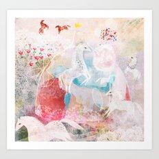 Chevaux Art Print