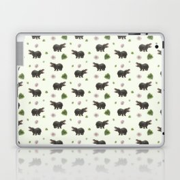 Hippos and Flowers Laptop & iPad Skin